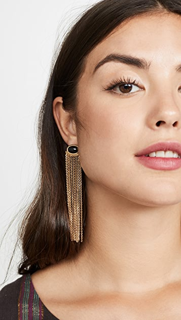 Aurelie Bidermann Bronx Pendant Earrings
