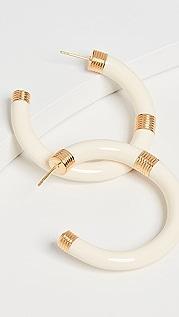 Aurelie Bidermann Katt 圈式耳环