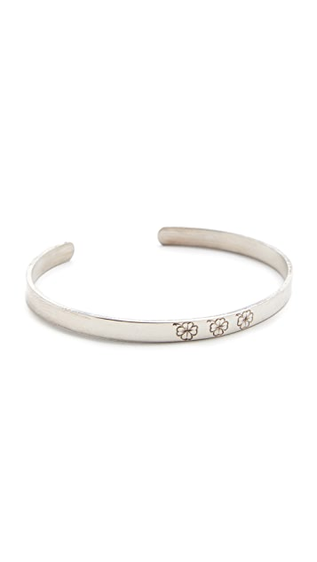 Aurelie Bidermann Fine Jewelry Silver Bangle