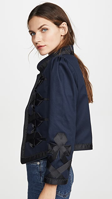 Alix of Bohemia Ribbon Jacket