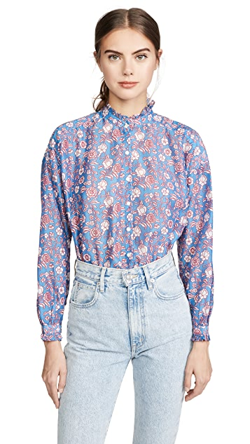 Alix of Bohemia Sonnet Blouse 印花女式衬衫