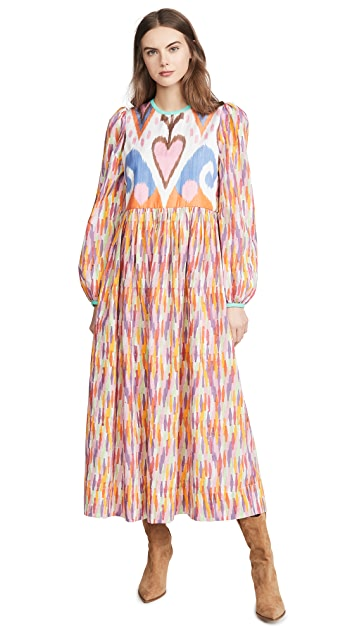 Alix of Bohemia Tallulah Rainbow Ikat Dress