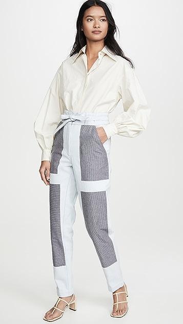 Alix of Bohemia Patchwork Chore Jeans