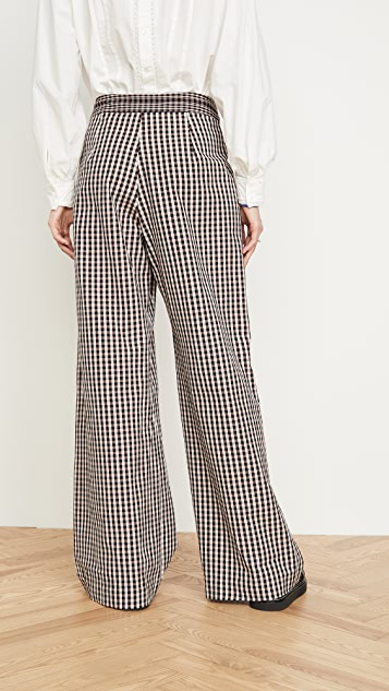 Alix of Bohemia Diana Houndstooth Trousers