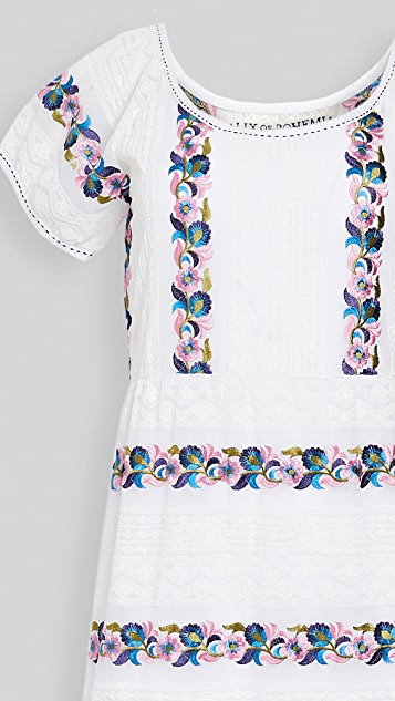 Alix of Bohemia Lucy Embroidery Dress