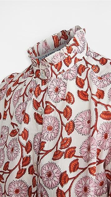 Alix of Bohemia Annabel Petunia 印花女式衬衫