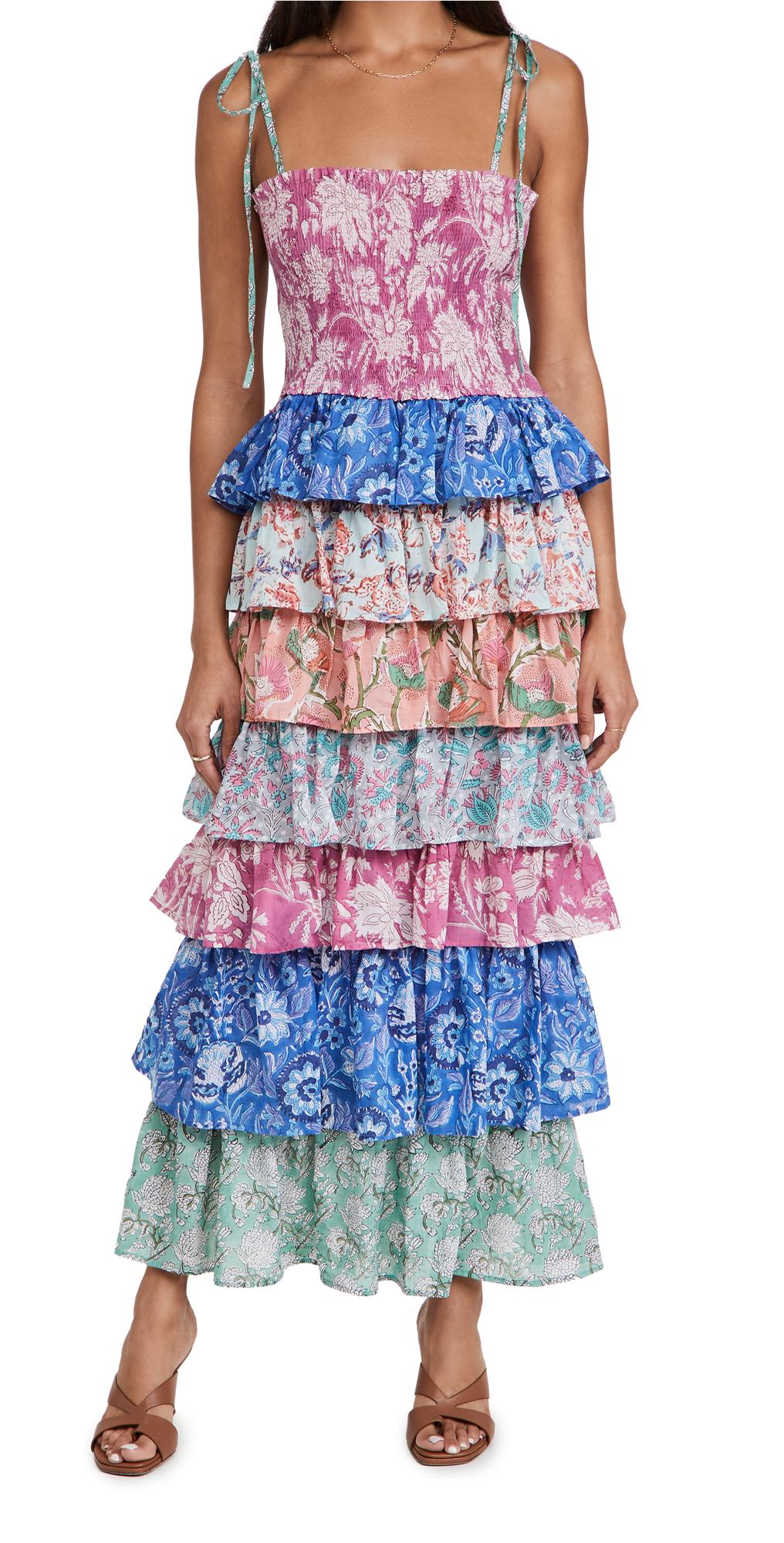 Alix of Bohemia Sweet Jane Tiered Ruffle Dress