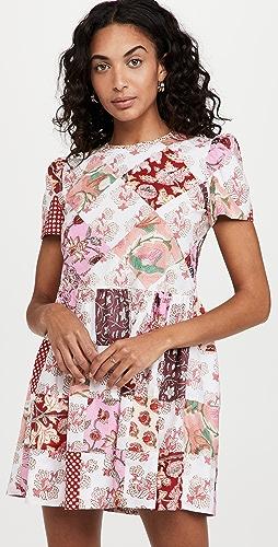 Alix of Bohemia - Anika Patchwork Mini Dress