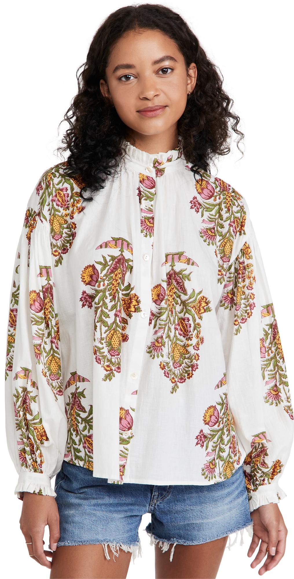Poet Cactus Flower Shirt