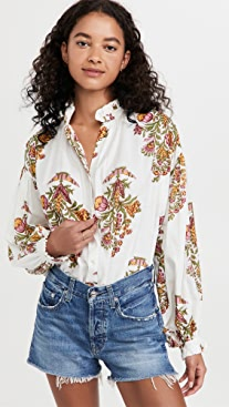Alix of Bohemia Poet Cactus Flower Shirt