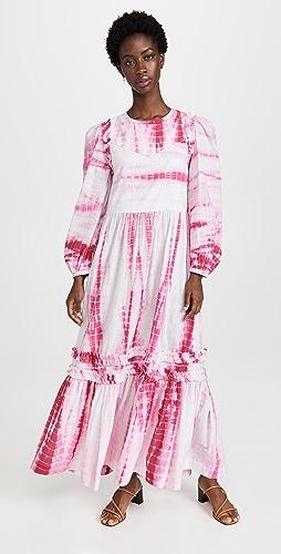 Alix of Bohemia - Plume Pink Shibori Dress