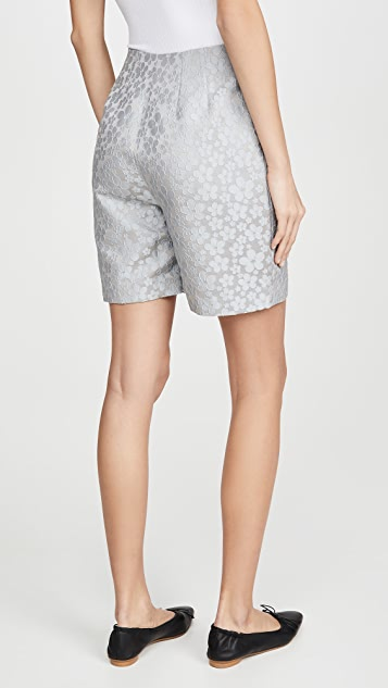 ALEXACHUNG Darted Shorts Daisy