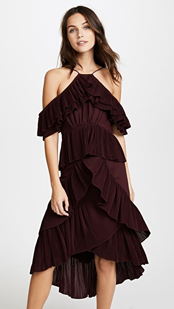 Acler Keppel Pleat Dress