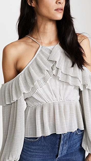 Acler Keppel Pleat Top