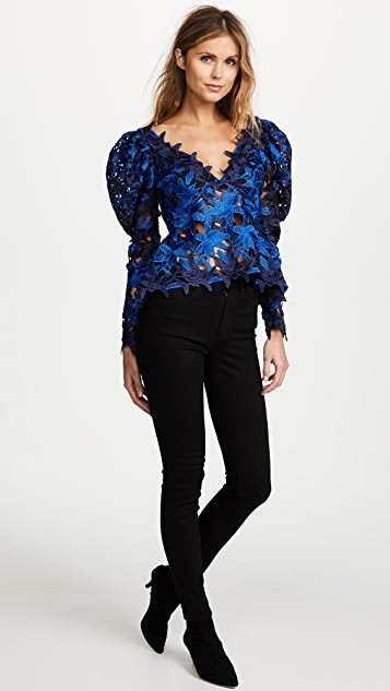 Acler Davis Lace Top