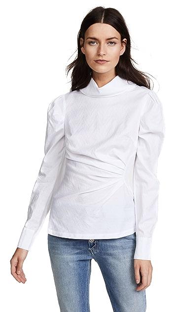 Acler Morgan Funnel Shirt