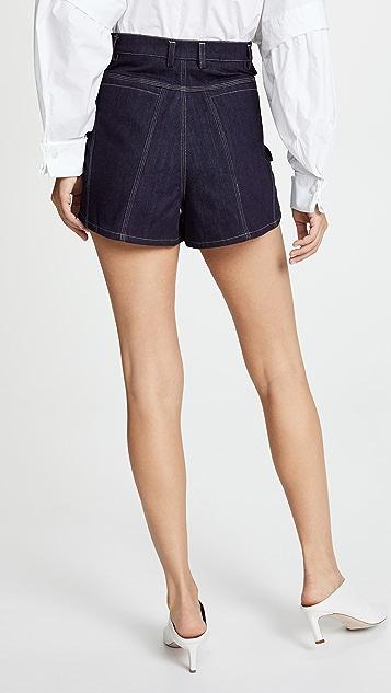 Acler Tenby Denim Shorts