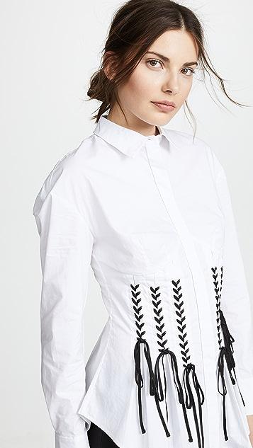 Acler Otley Shirt - White