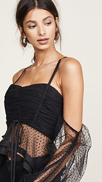 Acler Patting Bodice Top