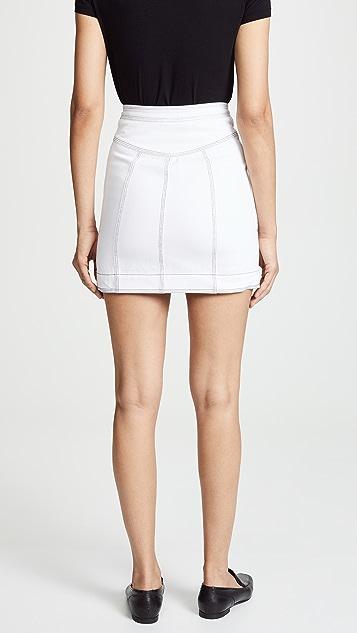 Acler Golding Denim Skirt