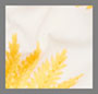 White/Marigold