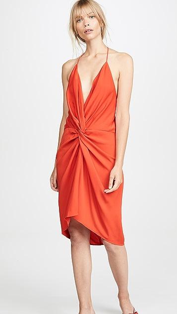 Acler Платье с перекрученной деталью Jenkins