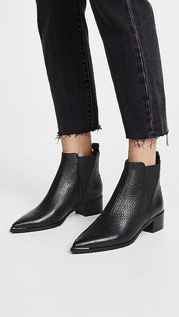Acne Studios Jensen 粒面切尔西式短靴