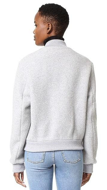 Acne Studios Azura Blanket Bomber Jacket