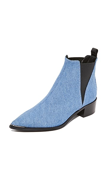 Acne Studios Jensen Denim Booties