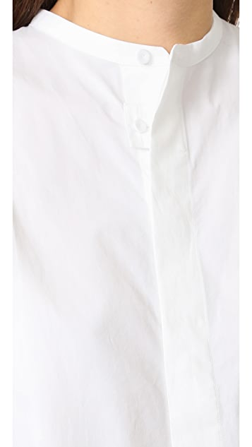 Acne Studios Siva Soft Poplin Dress