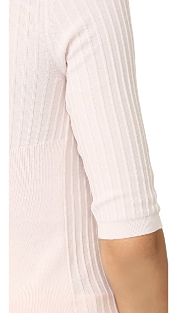 Acne Studios Iza Rib 3/4 Sleeve Sweater