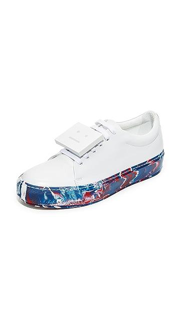 Acne Studios Adriana Oil Sneakers