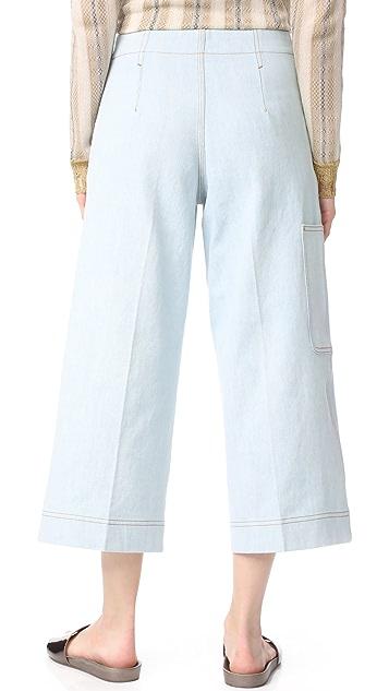 Acne Studios Укороченные брюки Texel