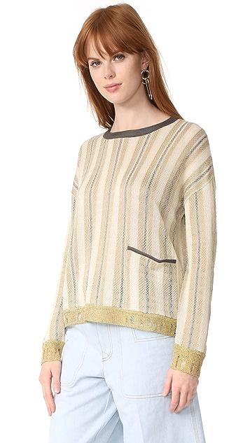 Acne Studios Blanca Stripe Sweater