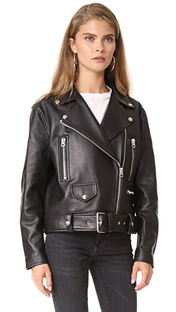 Acne Studios Merlyn Leather Jacket