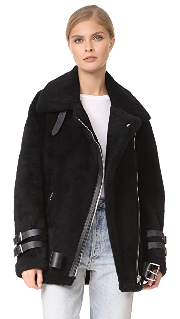 acne shearling