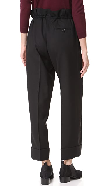 Acne Studios Tien Structured Wool Pants
