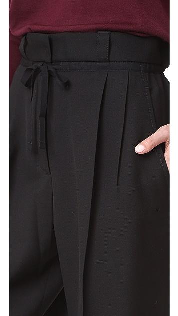 Acne Studios Tien Structured Wool Pants