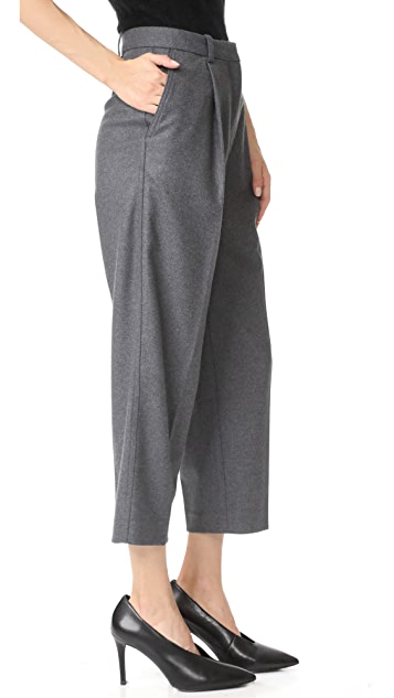Acne Studios Фланелевые брюки Tabea