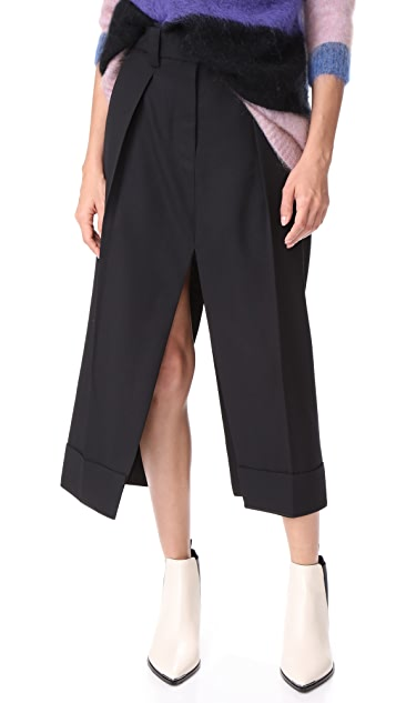 Acne Studios Saare Structured Skirt
