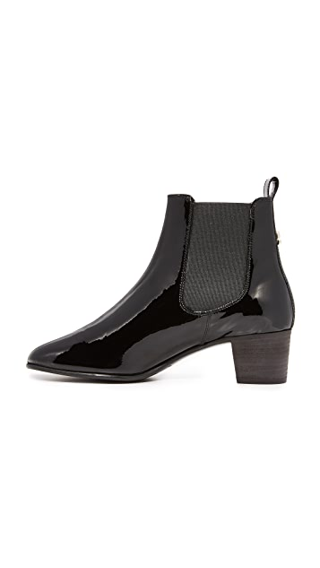 Acne Studios Hely Patent Booties