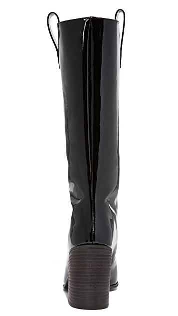 Acne Studios Bamy Patent Boots