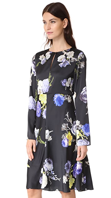 Acne Studios Dahari Floral Dress