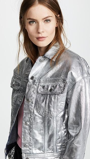 Acne Studios Lamp Silver Jacket