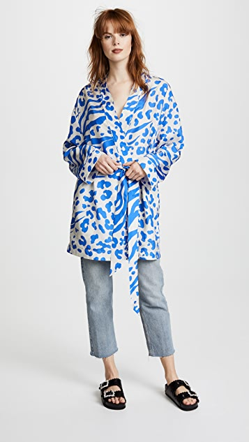 Jalone Silk Robe by Acne Studios