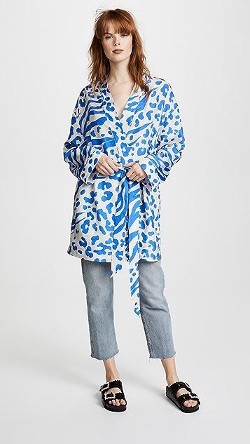 Acne Studios Jalone Silk Robe