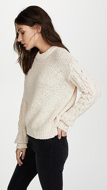 Acne Studios Hila Cable Sweater