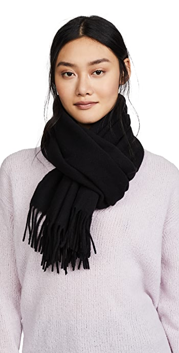 Acne Studios Canada Narrow Scarf - Black