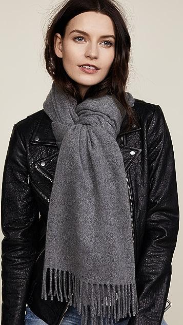 Acne Studios Canada 开司米羊绒窄款围巾