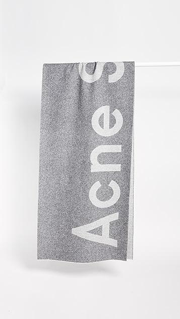 Acne Studios Toronto Logo Scarf